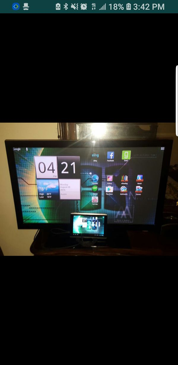 170.00 Acer tablet with a HDMI cable power/car charging cable