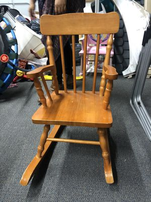 Kids Rocking Chair for Sale in San Bernardino, CA