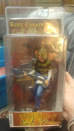 Kurt Cobain Collectible Action Figure for Sale in Bountiful, UT