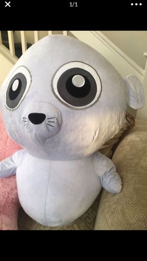 Cute seal stuffed animal - large size! for Sale in Hayward, CA