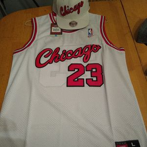 Michael Jordan jersey with hat for Sale in Nashua, NH