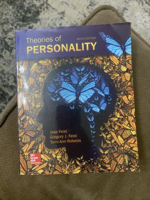 Theories of personality textbook for Sale in Hialeah, FL