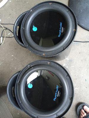 Car audio 2 bazzokas 8inch speaker no included. for Sale in Belle Isle, FL