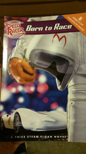 Born to race! Speed Racer youth novel for Sale in Uniopolis, OH
