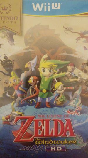 Zelda wii u windwaker $40 firm for Sale in Mesa, AZ