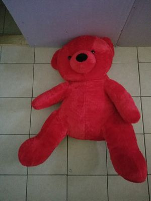 Teddy bear red for Sale in Richmond, CA