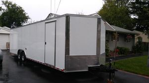 VNOSE ENCLOSED TRAILERS NEW 20FT 24FT 28FT 32FT SIDE BY SIDE RACE CAR TRUCK SLED BIKE ATV UTV HAULER MOVING STORAGE for Sale in Portland, OR
