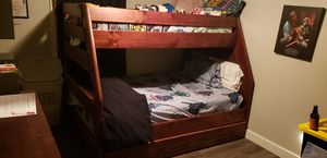 Full/twin Bunk Bed Set w/dresser for Sale in Phoenix, AZ