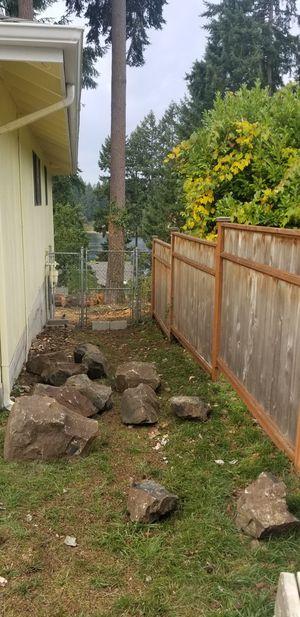 Free landscaping rocks for Sale in Auburn, WA