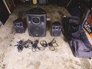 """Beta 3 US-800 System 860W 2 x 6"""" Loudspeakers + 1 x 12"""" Subwoofer for Sale in Everett, WA"""