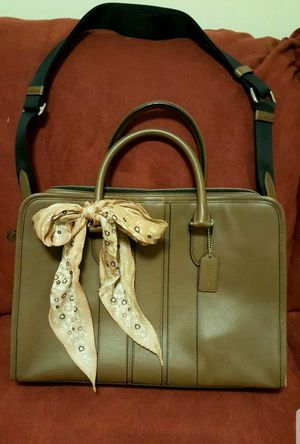 Coach Leather Laptop Bag Briefcase for Sale in San Dimas, CA