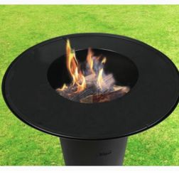 """30"""" Fire Pit Bonfire Fire wood charcoal heater for Sale in Ontario,  CA"""