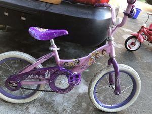 Girls princess bike $20 obo for Sale in Poinciana, FL