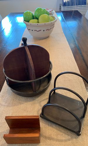 Pottery Barn 3 piece desk accessory collection for Sale in Wenatchee, WA