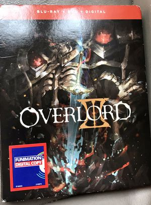 OverLord blue ray digital dvd new sealed for Sale in Los Angeles, CA