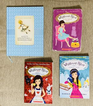 Set of Alice in Wonderland Books - Whatever After Series for Sale in Round Rock, TX