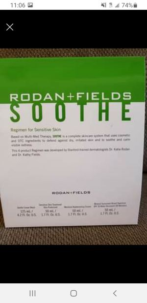 Rodan and Fields Soothe Regime Never Opened for Sale in Freehold, NJ