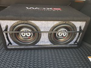 db subwoofer bass crate speakers for Sale in Austin, TX