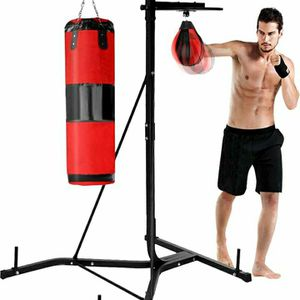 Heavy Duty Punching Bag/Speed Bag And Stand for Sale in Rancho Cucamonga, CA