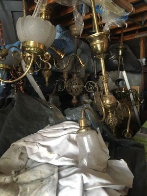 Antique light fixtures for Sale in Los Angeles, CA