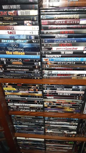 Over 300 DVDs (1too 2 dollars apiece. for Sale in St. Louis, MO