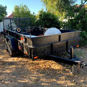 2001 2 AXLE Trailer 14 X 6.5 Metal for Sale in Menifee, CA