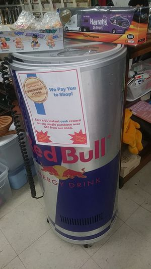Red bull energy drink cooler for Sale in Cumberland, RI