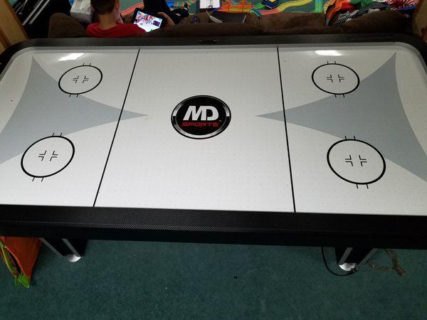 7' MD Sports air hockey table