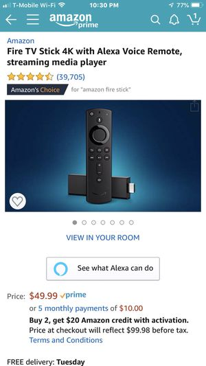 Fire TV Stick 4k for Sale in Hayward, CA