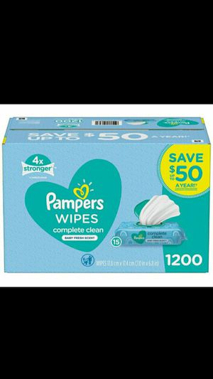 ♡♡¿Pampers wipes ♡♡♡ for Sale in Fontana, CA