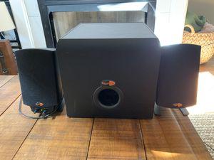 Klipshe Promedia 2.1 speakers for Sale in Nashville, TN