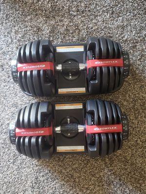 Bowflex adjustable dumbbells for Sale in La Mesa, CA