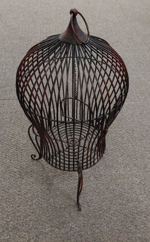 Wrought Iron Bird Cage for Sale in Burlington, NC