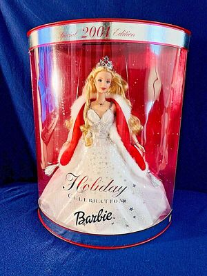 2001 Holiday Celebration Barbie # 50304 Special Edition Mattel for Sale in Oceanport, NJ