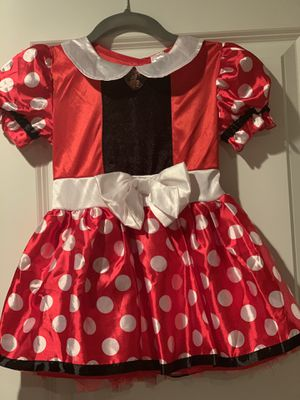 Disney Minnie mouse dress for girls kids size 3T-4T for Sale in Lexington, SC