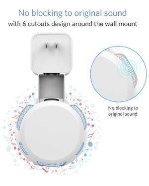 Outlet Wall Mount Hanger Holder Stand for Dot 3rd Generation Smart Home Voice Assistants, No Messy Wires or Screws-Compact Bracket Case Plug in Bedro for Sale in Corona, CA