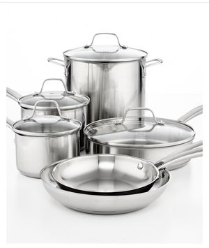 Calphalon classic stainless steel 10pc for Sale in Bloomington, IL