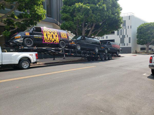 Cal 3/4 car wedge