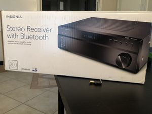 Insignia stereo receiver with Bluetooth for Sale in Phoenix, AZ