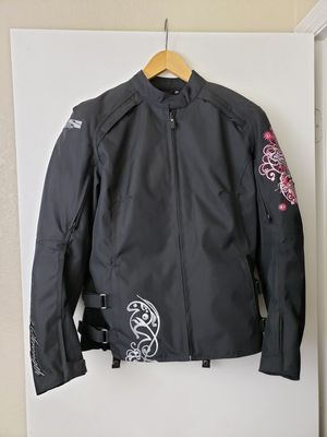 Speed and Strength Womens Padded and Lined Motorcycle Jacket Size Medium for Sale in Phoenix, AZ