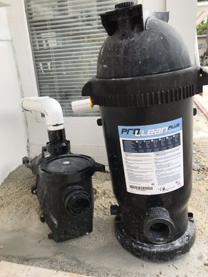 Waterway Pool Pump and ProClean Cartridge Filter for Sale in Miami, FL
