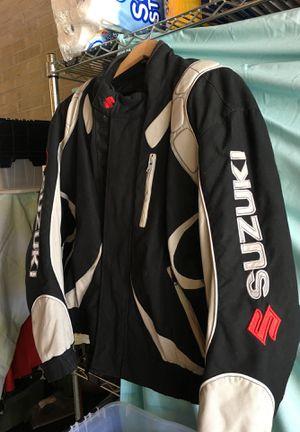 Suzuki moto jacket. for Sale in Salt Lake City, UT