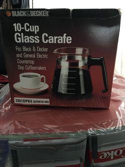 New Glass Coffee Carafe for Sale in Pemberton,  NJ