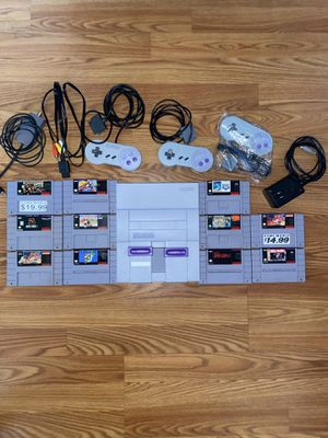 Super nintendo for Sale in Paterson, NJ