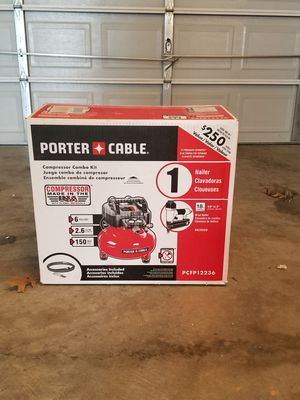 Porter cable compressor with 1/2 inch impact wrench for $200 obo for Sale in Clarksburg, MD