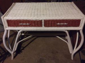Wicker dresser/vanity for Sale in Pace, FL