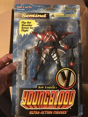 Rob Liefield's Youngblood Sentinel action figure for Sale in Payson, AZ
