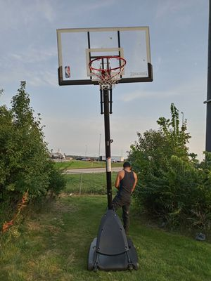 Basketball hoop spalding for Sale in Bloomington, IL