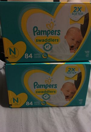 Newborn diapers for Sale in Tarentum, PA