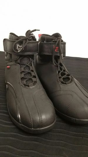 Moto Centric Black Motorcycle Street Shoes Size Men's 10 for Sale in Long Beach, CA